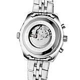 Jaragar Мужские часы Jaragar Steel White, фото 7