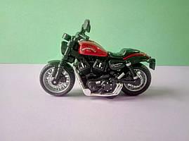 Іграшка Мотоцикл класика звук світло металопластик різні кольори