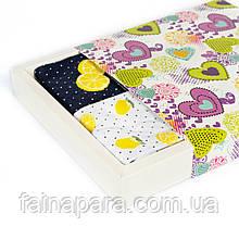 Женские носки Лимон 4 пары в подарочной коробке