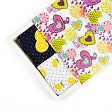 Женские носки Лимон 4 пары в подарочной коробке, фото 6