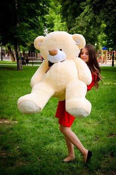 Плюшевий Ведмедик Бойд 160 см Абрикосовий