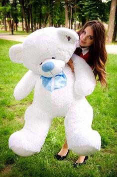 Плюшевий Ведмедик Бойд 160 см Білий