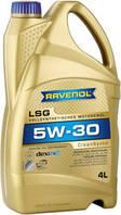 Масло моторное синтетика RAVENOL (равенол)LSG 5W-30 4л.