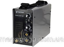 Аргоновий зварювальний апарат для нержавійки TITAN ПИАС200+ДС
