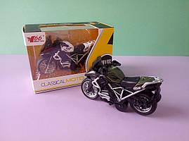 Ігровий Спортивний Мотоцикл інерція металопластик різні кольори