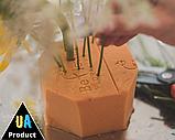 """Губка / флористична піна суха помаранчева ТМ """"Beflower"""" від виробника 20шт/уп, фото 5"""