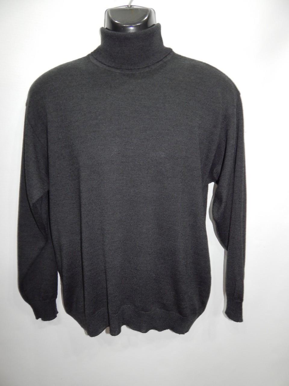 Гольф мужской шерстяной теплый Black Label р.48-50 004GM