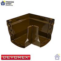 Угол желоба внутренний 90 градусов Devorex Elegance 140 Коричневый
