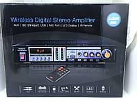 Підсилювач потужності звуку AMP ZX-1313, MP3 USB Micro SD, FM Bluetooth