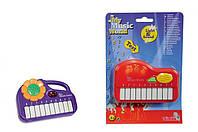 Мини-пианино 2 вида Simba Toys 6837469