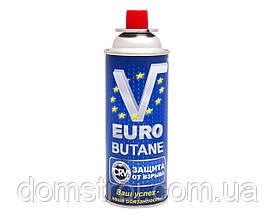 Газовый баллон Euro Butane 227 г с системой CRV Корея