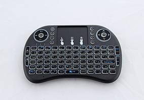 Клавіатура wireless Keyboard MWK08/i8 Led touch з підсвічуванням