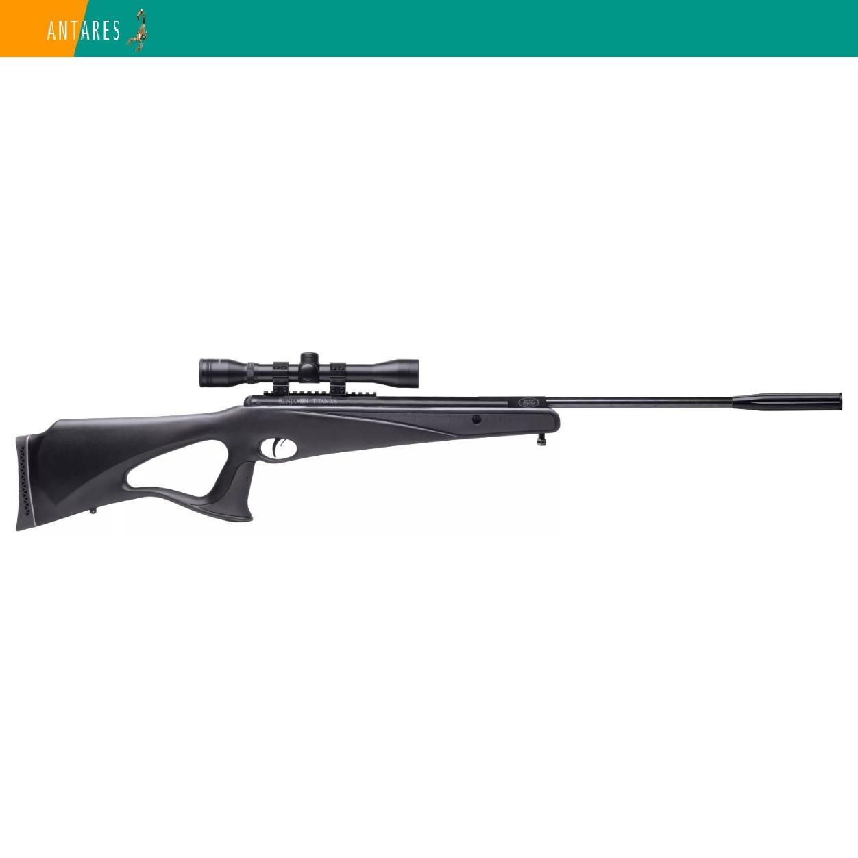 Пневматическая винтовка Crosman Benjamin Titan XS RM 9-32091 с ОП 3-9×32 газовая пружина 305 м/с
