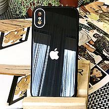 Чехол Color-Glass для Iphone XS Max бампер с защитой камер Black