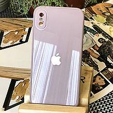 Чехол Color-Glass для Iphone XS Max бампер с защитой камер Lavender