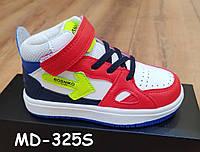 Высокие кроссовки ботинки весна-осень арт MD-325S 27-32 размеры цвет комбинированный