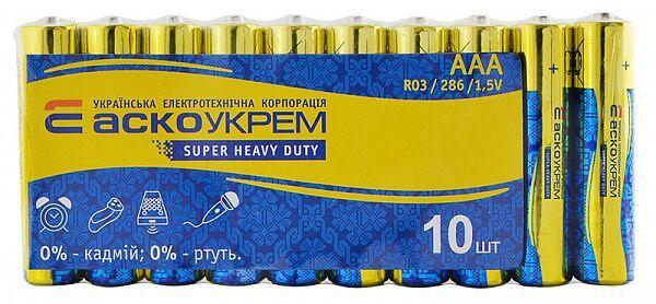 Батарейка Аско AAA/R03 сольова 361270