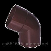 Колено 60°, 90/75. Водосточные  системы Profil (Профиль)