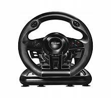 Проводной руль Q-SMART SW2020 MONACO Black (PC, PlayStation 4, PlayStation 3, Xbox One)