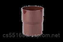 Соединитель трубы, 90/75. Водосточные  системы Profil (Профиль)