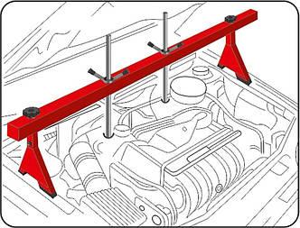 Траверса для вивішування двигуна до 500 кг YATO YT-55568, фото 2