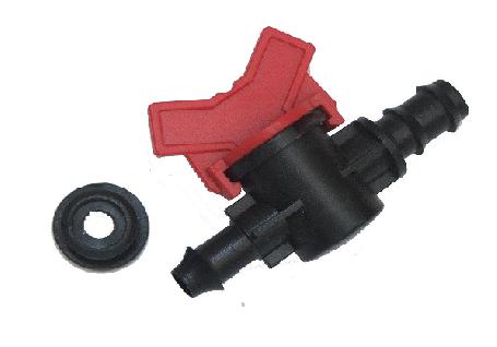 Кран з ущільнювальної гумки для Drip Line SL 011-3