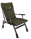 Кресло рыбацкое Elektrostatyk F8R с подлокотниками и фиксированной спинкой, фото 2