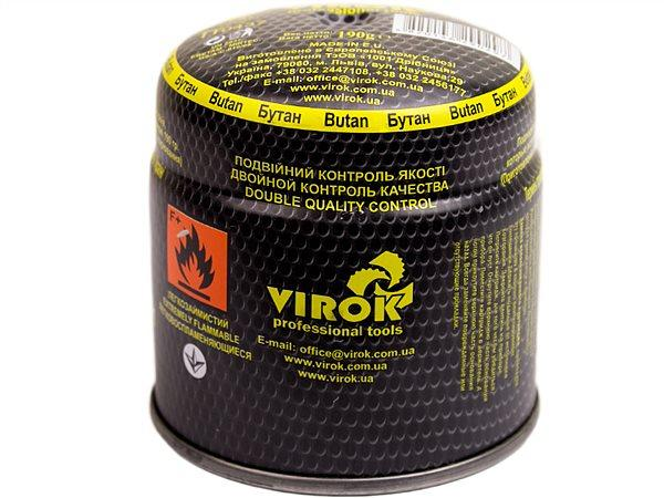 Балон газовий Virok одноразовий тип 200 190гр
