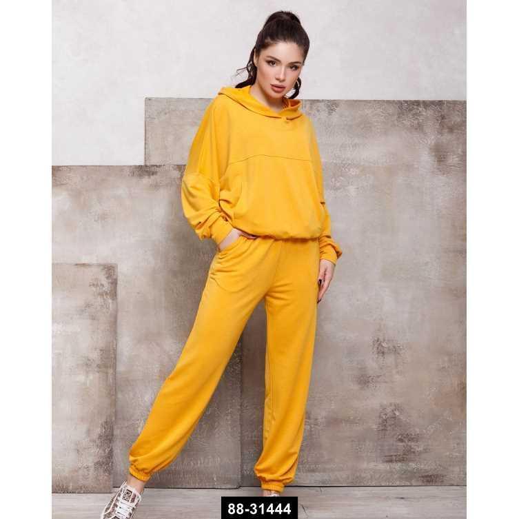 Спортивные костюмы  12449  L желтый, L-XL размер международный, 88-31444