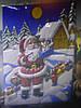 Украшение на стену Снеговик,Олень, Дед Мороз, фото 2