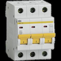 Автоматичний вимикач ІЕК BA47-29M 3P 4,5 КА С32А 3 фазний