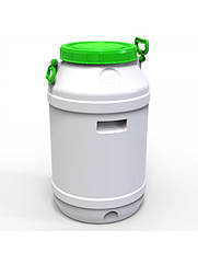 Бочка пластикова Європласт харч. 65л горловина 280мм