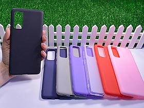 Силиконовый бампер для Samsung Galaxy S20 FE 5G G781