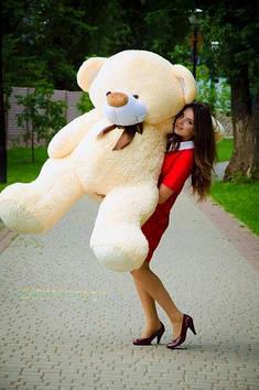 Плюшевий Ведмедик Бойд 200 см Абрикосовий