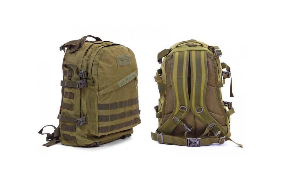 Рюкзак штурмовой SILVER KNIGHT 3D Oxford D-900, 40 л. ХАКИ