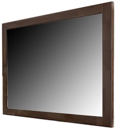Зеркало прямоугольное Гармония в деревянной раме TM ArborDrev