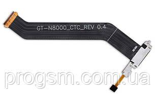 Разъем Зарядки Samsung N8000 With Flat And Mic