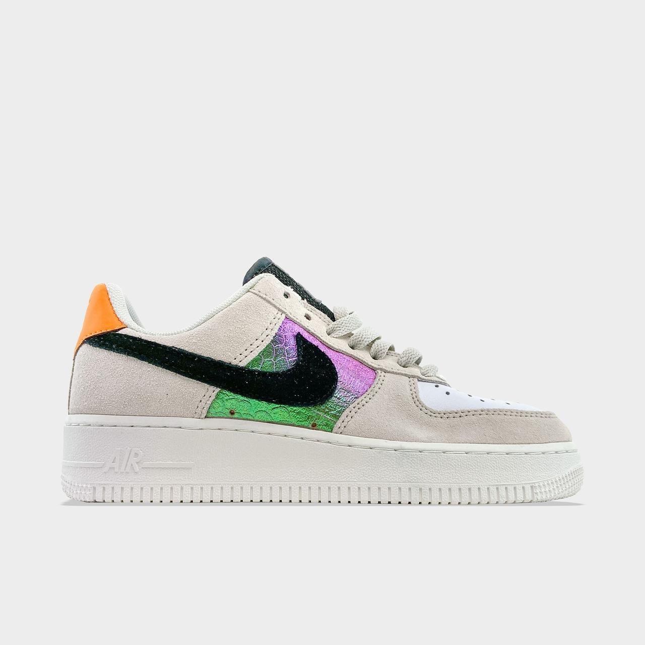 Nk, крос, обувь, взуття, sneakers, шузы, Air Force 1 Low Beige Suede (Бежевый)