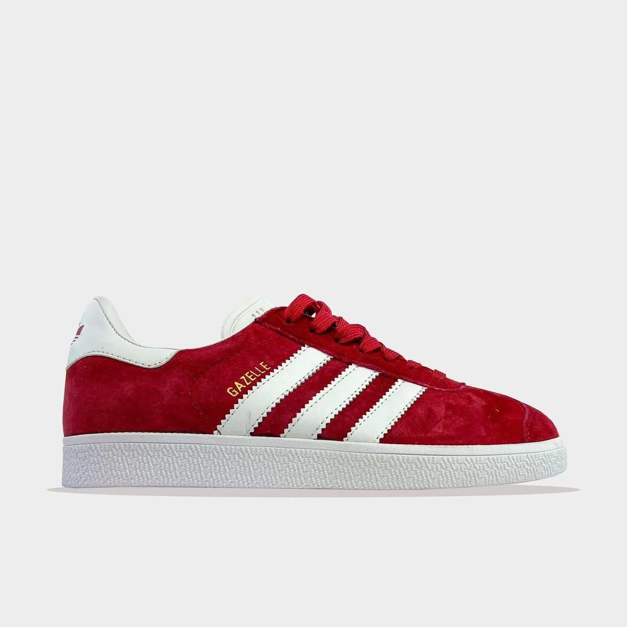 Ad!id@s, крос, обувь, взуття, sneakers, шузы, Gazelle Burgundy (Бордовый)