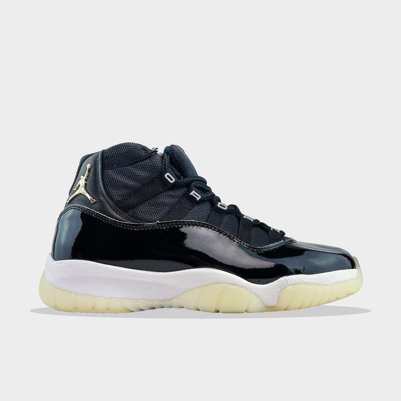 Nk, крос, обувь, взуття, sneakers, шузы, Air Jordan 11 High 25th Anniversary (Черный)