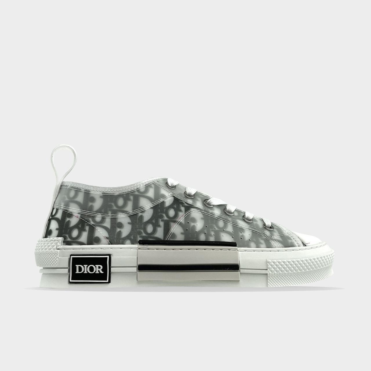 Dior B23 Low-Top Grey White (Білий)