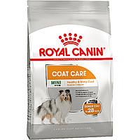 Корм для собак Royal Canin MINI COAT CARE 1 кг (Роял Канін Міні Коат Кер)