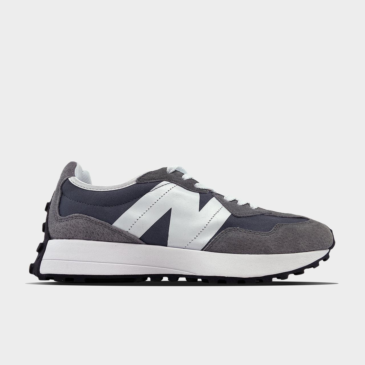 New Balance кроссовки, крос, обувь, взуття, sneakers, шузы, 327 Gray White (Серый)