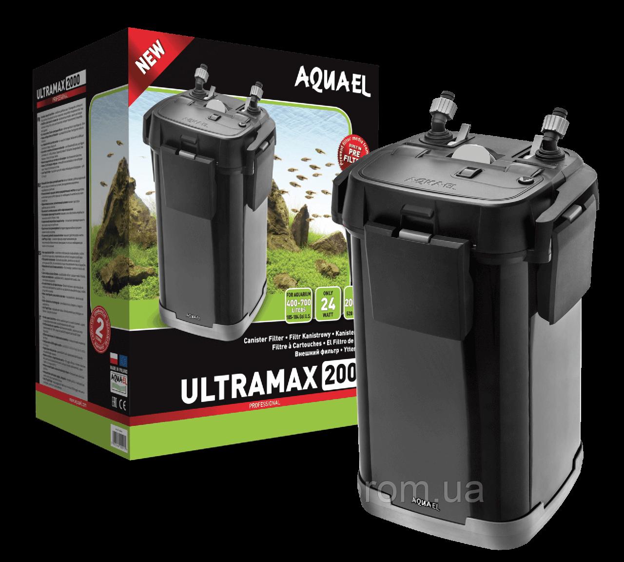 Внешний аквариумный фильтр Aquael ULTRAMAX 1500 для аквариумов от 400 до 700 литров