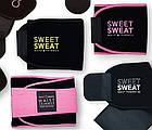 Пояс для похудения SIZE XL с компрессией Sweet Sweat Waist Trimmer Belt | Жиросжигающий пояс, фото 4