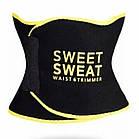 Пояс для похудения SIZE XL с компрессией Sweet Sweat Waist Trimmer Belt | Жиросжигающий пояс, фото 6
