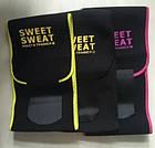 Пояс для похудения SIZE XL с компрессией Sweet Sweat Waist Trimmer Belt | Жиросжигающий пояс, фото 7