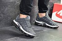 Чоловічі кросівки в стилі Nike Vapormax Plus сірі, фото 1