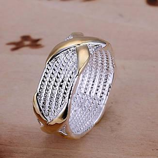 """Ажурное женское кольцо на палец """"Фебрис"""" покрытие серебро 925, фото 2"""