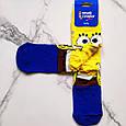 Носки высокие с принтом Спанч Боб размер 37-43, фото 2